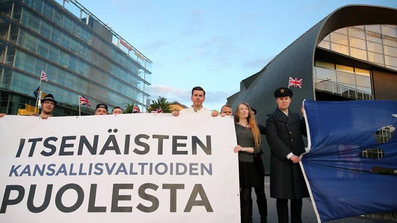 Lähden pysäyttämään liittovaltiokehitystä ja suojaamaan Suomen itsenäisyyttäEU:lta